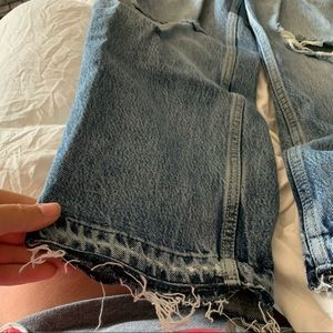Free People Jeans - Free People Ripped Boyfriend Jeans